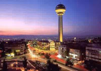 Hotéis em Ancara