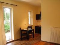 Küche und Terrassenausgang