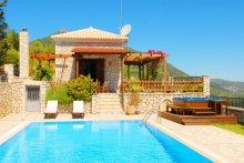 Villa with private pool , 2 bedrooms