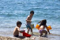 sandy beach for kids