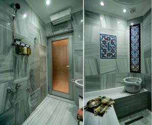 Private Turkish Hammam with Under Martble Heating System